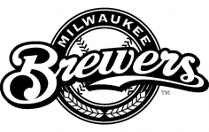 Milwaukee Brewers Logo dxf File