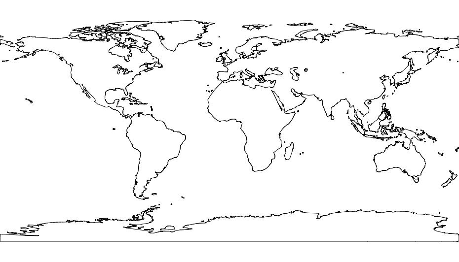 world map dxf file free download