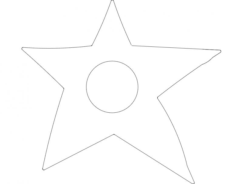 Star Final dxf File