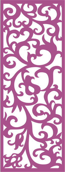 Laser Cut Vector Panel Seamless 288 Free Vector