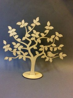 Decoration Tree Stand Laser Cut PDF File