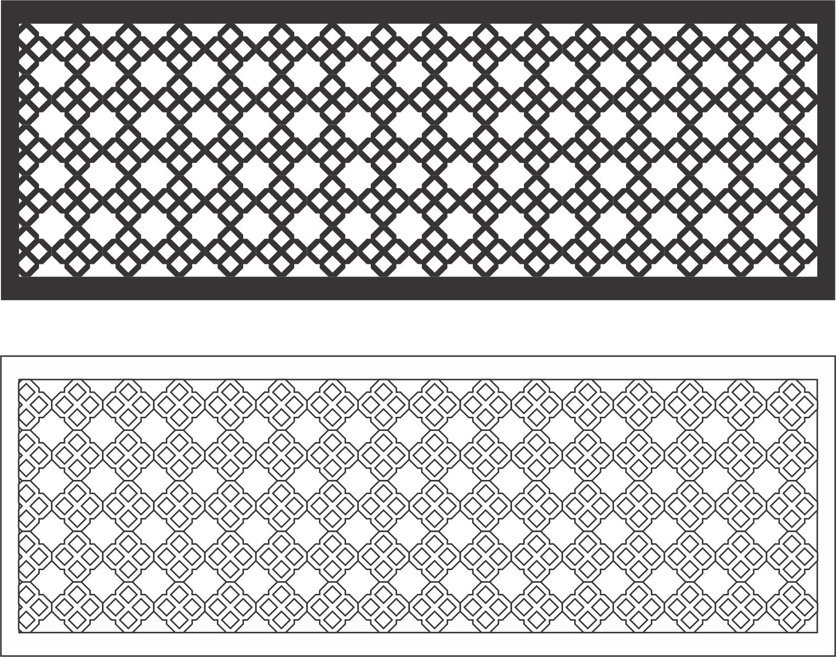 Wall Decor Panel 3 Free Vector
