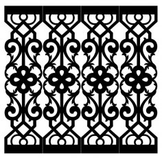 Grille Repeat Pattern SVG File