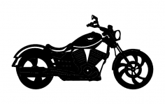 Victory Motorcycle dxf File