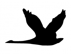 Geese dxf File