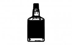 Jd Bottle dxf File