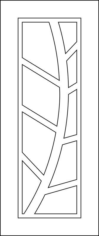 Vector For Door Machining Free Vector