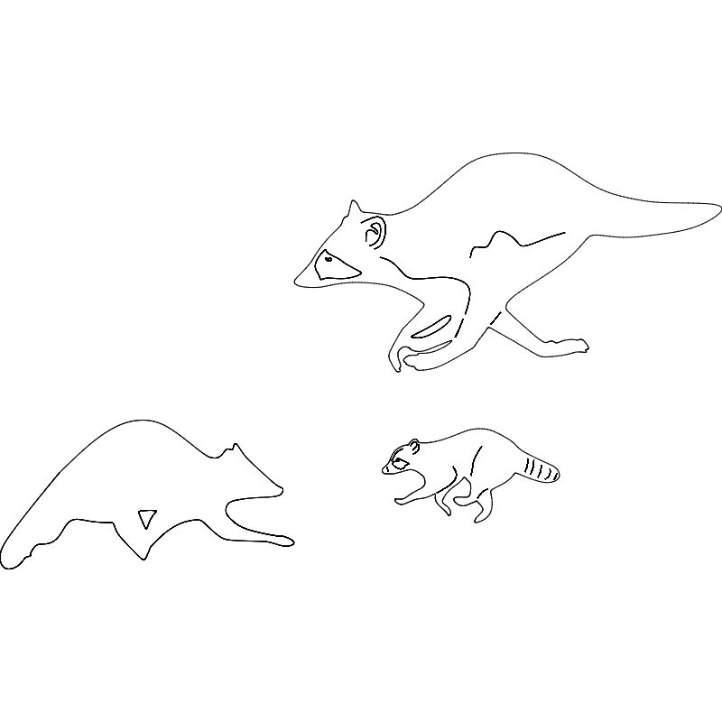 Running Racoon dxf File