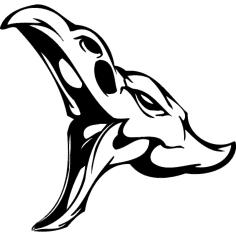 Skull 010 dxf File