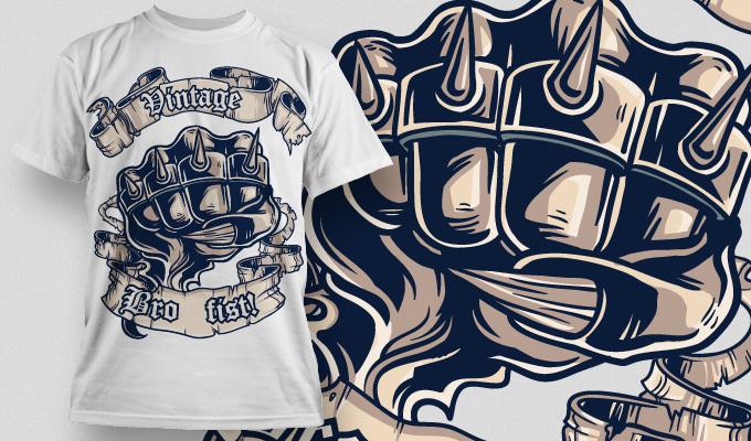 Designious t shirt design Free Vector