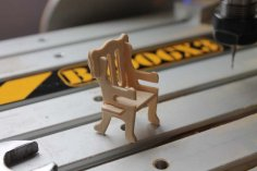 Normal Chair Assembly DXF File