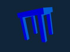 High table stl file
