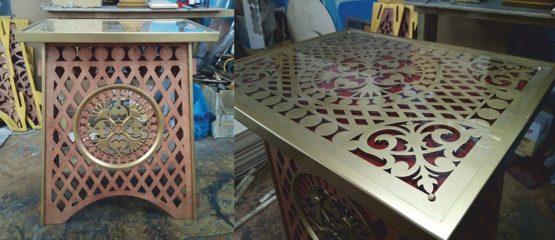 Decor Table for CNC Router Laser Plasma DXF File