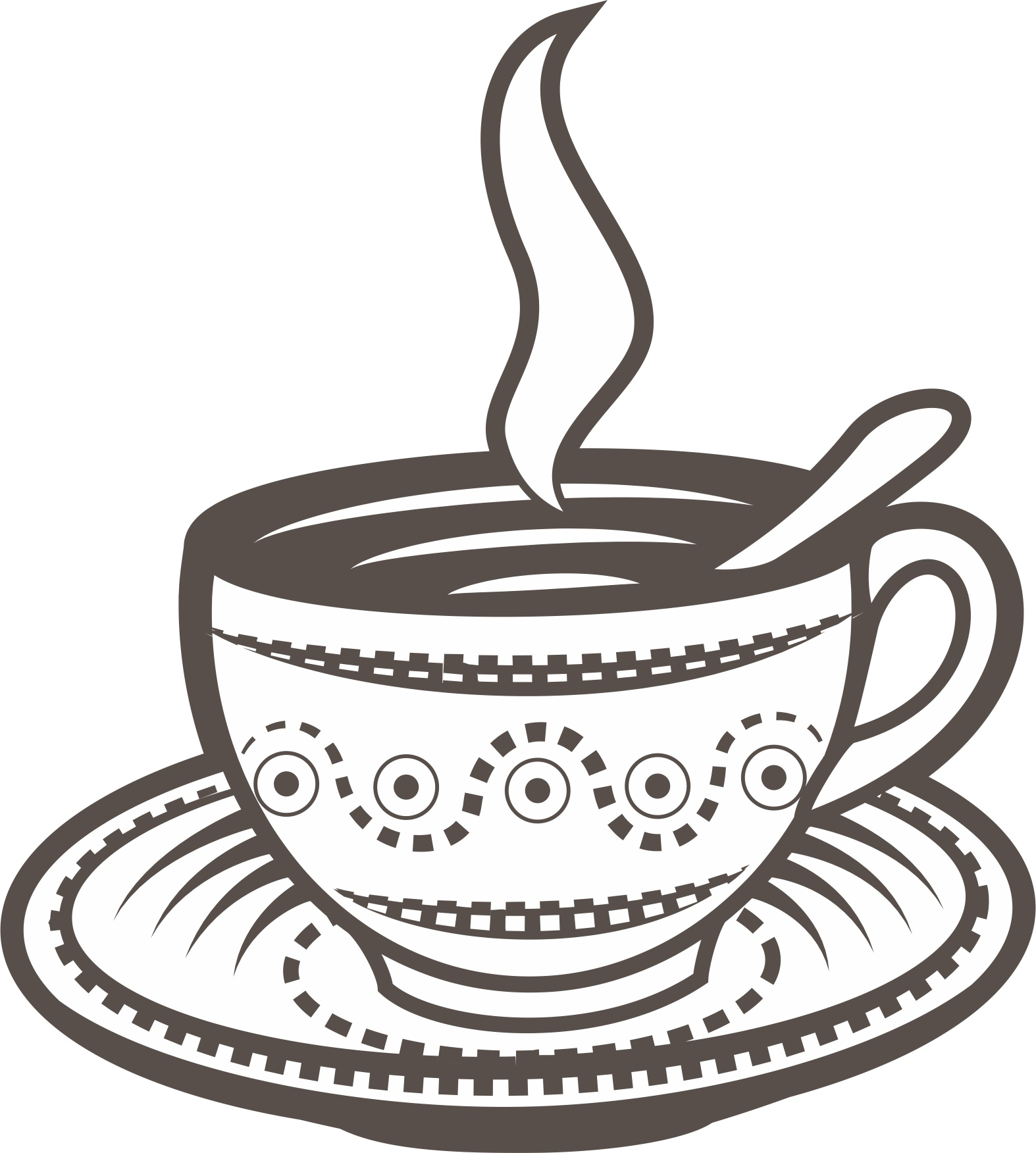 Coffee Cup Vector Free Vector