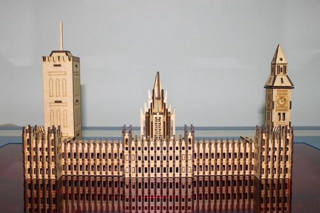 Laser Cut London Big Ben PDF File