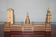 Laser Cut London Big Ben PDF File