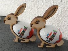 Easter Bunny DXF File