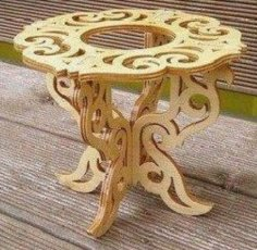 Porta Vaso – Vase Holder CNC Router Laser Cut Plans PDF File