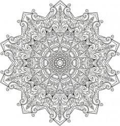 Myst Mandala Free Vector
