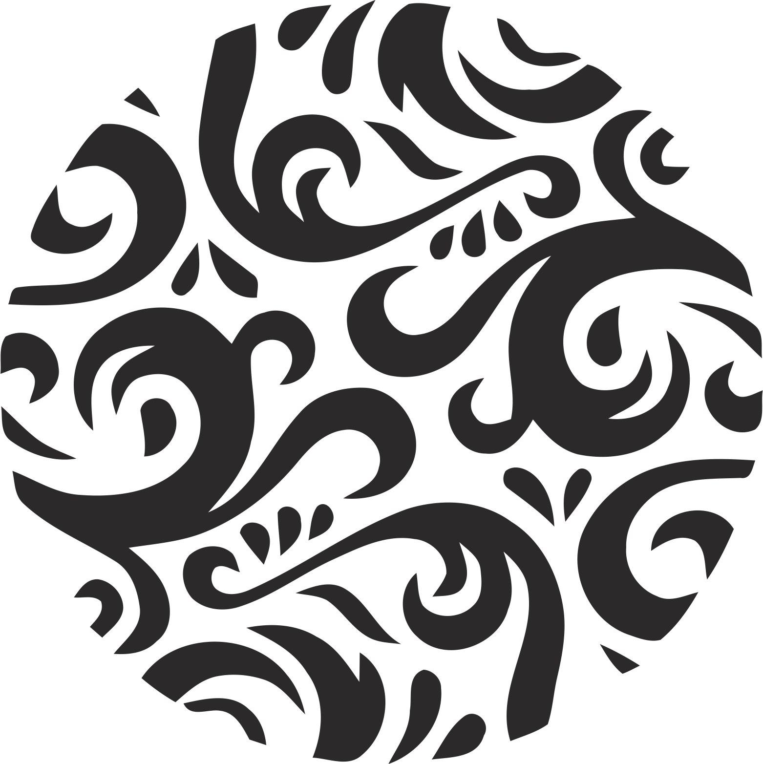 Decor Circle Free Vector