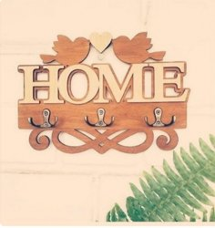 Laser Cut Decorative Wall Hanger Love Birds Wall Hooks Free Vector