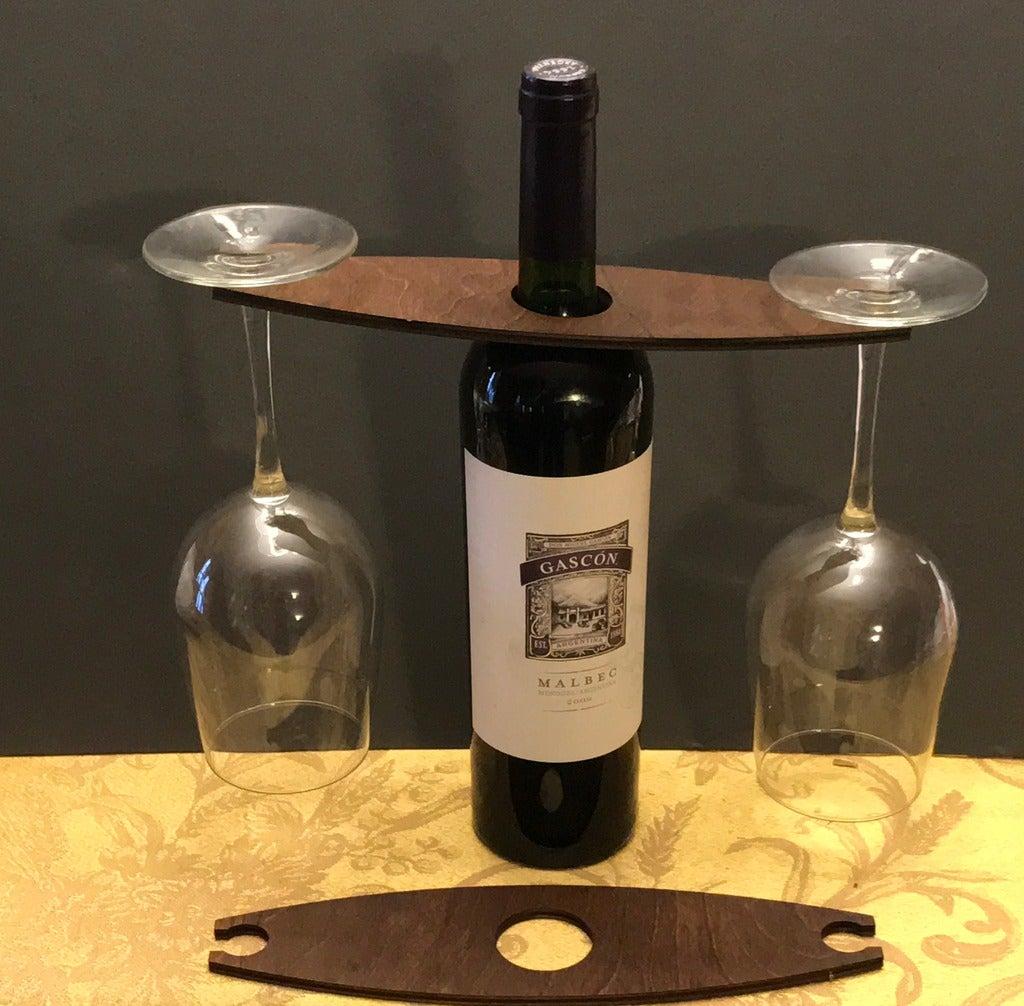Laser Cut Wine Butler SVG File