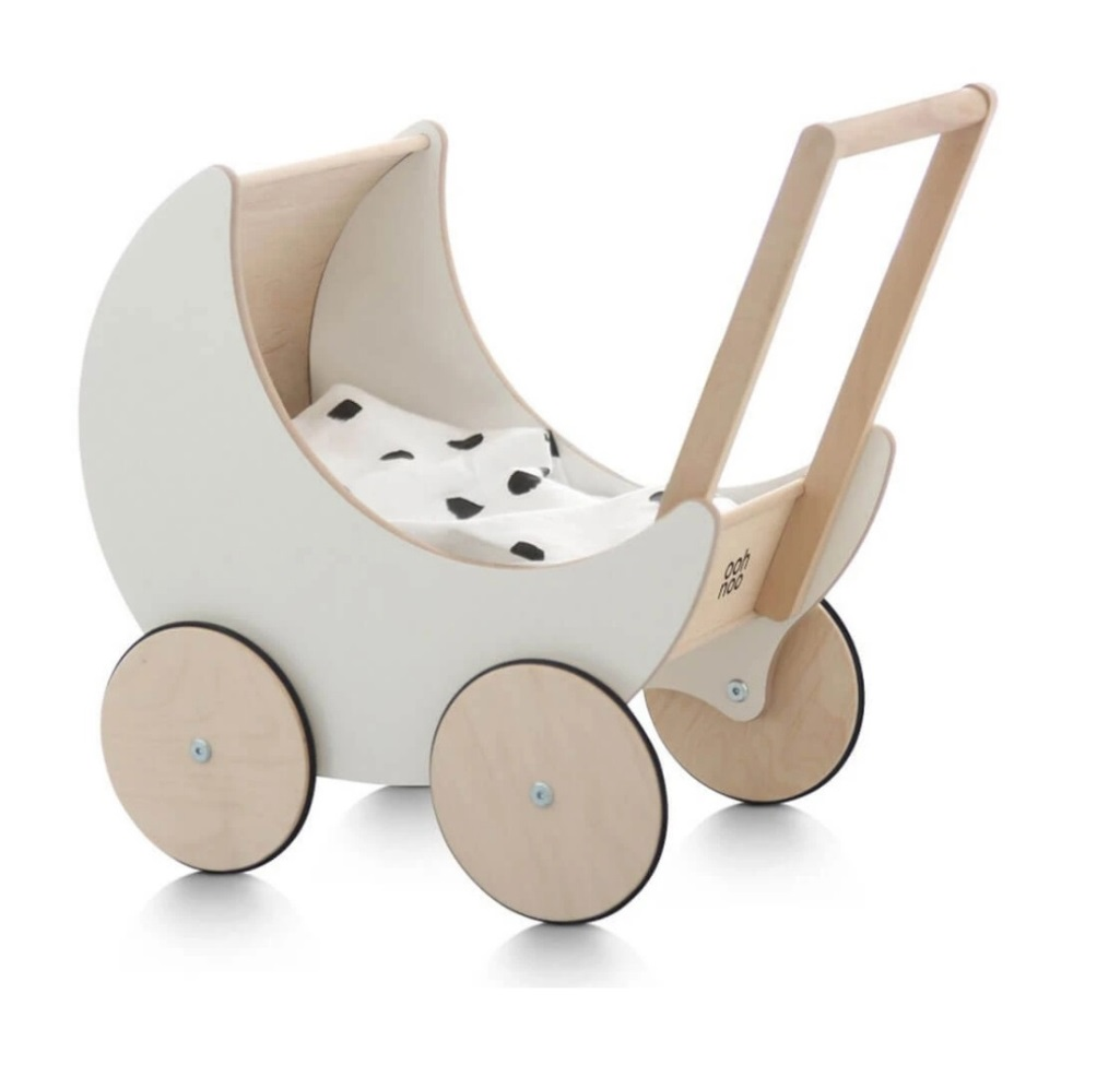 Laser Cut Decorative Stroller Free Vector