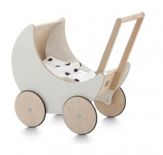 Laser Cut Decorative Stroller Free Vector