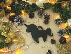 Laser Cut Wooden Unicorn Decorations Adorable Unicorn Decor Free Vector
