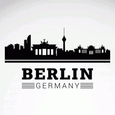 Berlin Silueti Free Vector