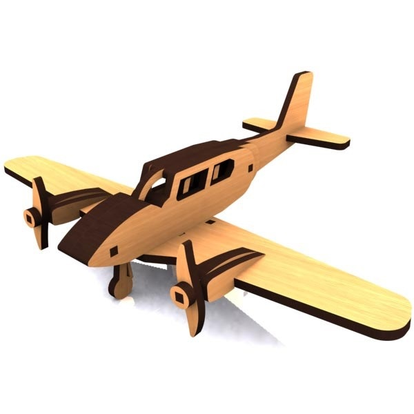 Piper Cherokee Aircraft Model DXF File