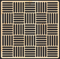 Decorative MDF Pattern Free Vector