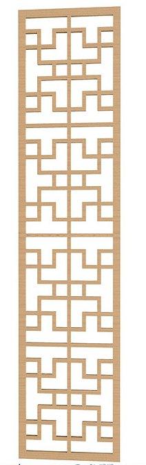 Geometric Pattern DXF File