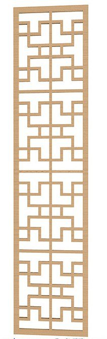 Geometric Pattern DXF File