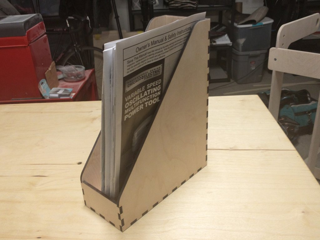 Magazine Box DXF File