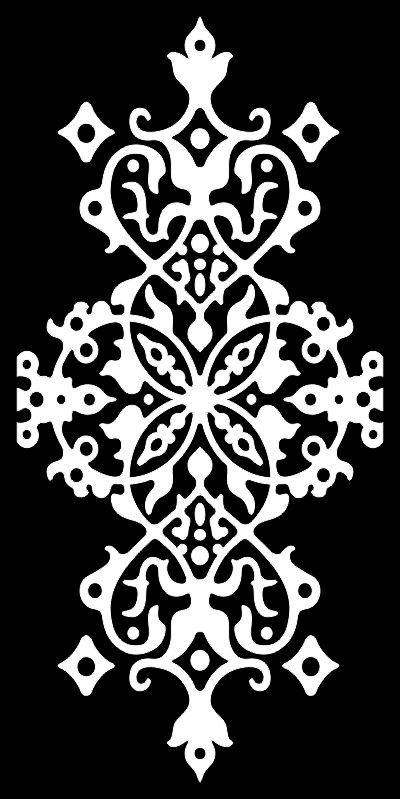 Seamless arabesque damask pattern Free Vector
