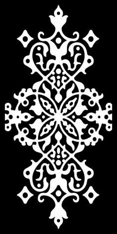 Seamless arabesque damask pattern Free Vector