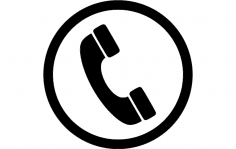 Phone Icon dxf File