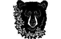 Bear flower dxf File