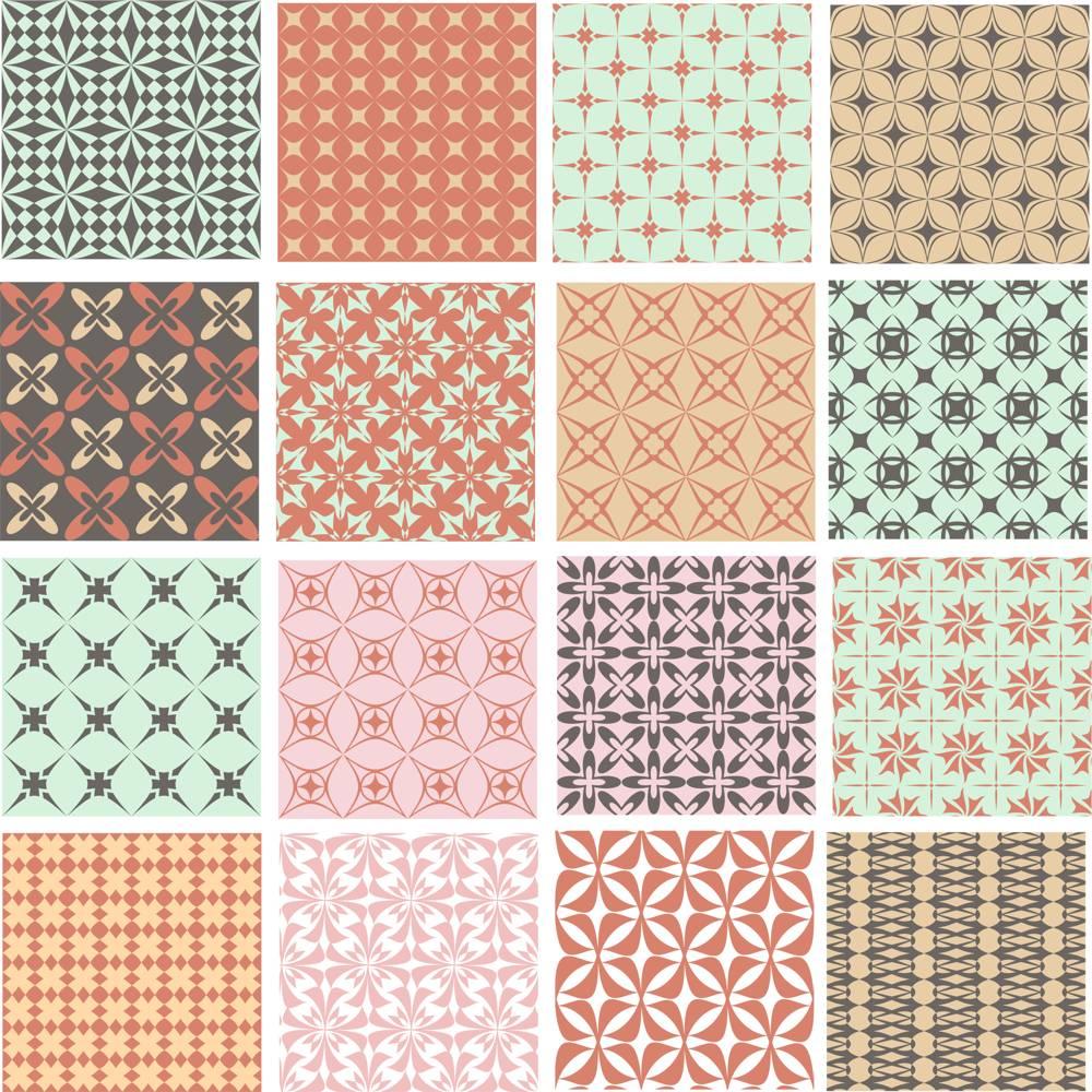 Geometric Patterns Set CDR File