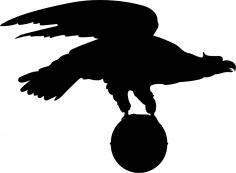 Eagle Silhouette Vector Free Vector