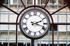 Laser Cut Analog Clock