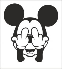 Mickey Sticker CDR File
