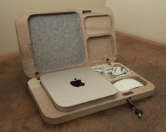 Oak Mac Mini Case DXF File