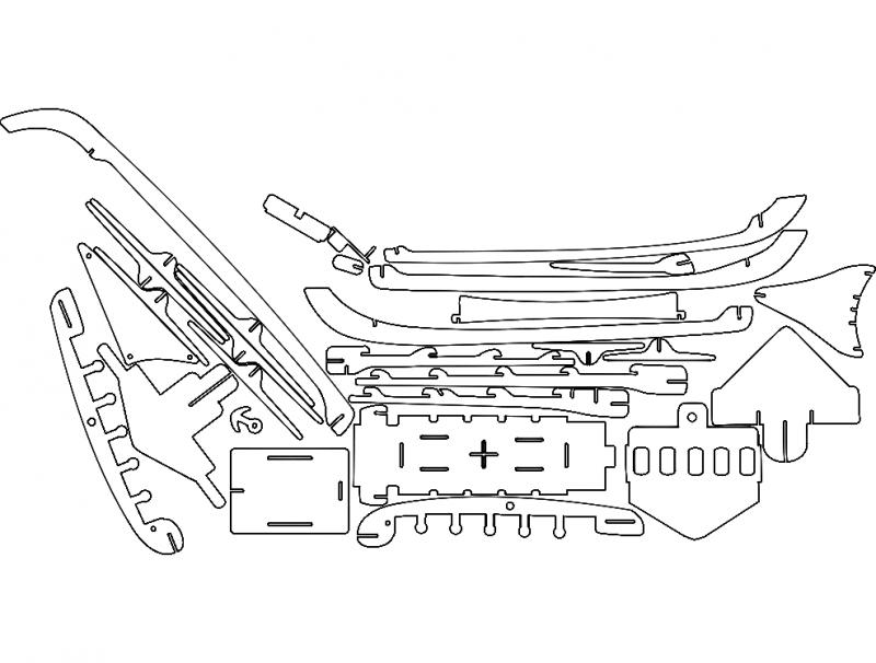 ship-set 2 dxf File