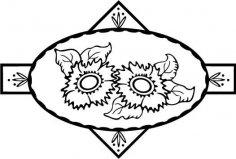 Sun Flower 26 EPS File