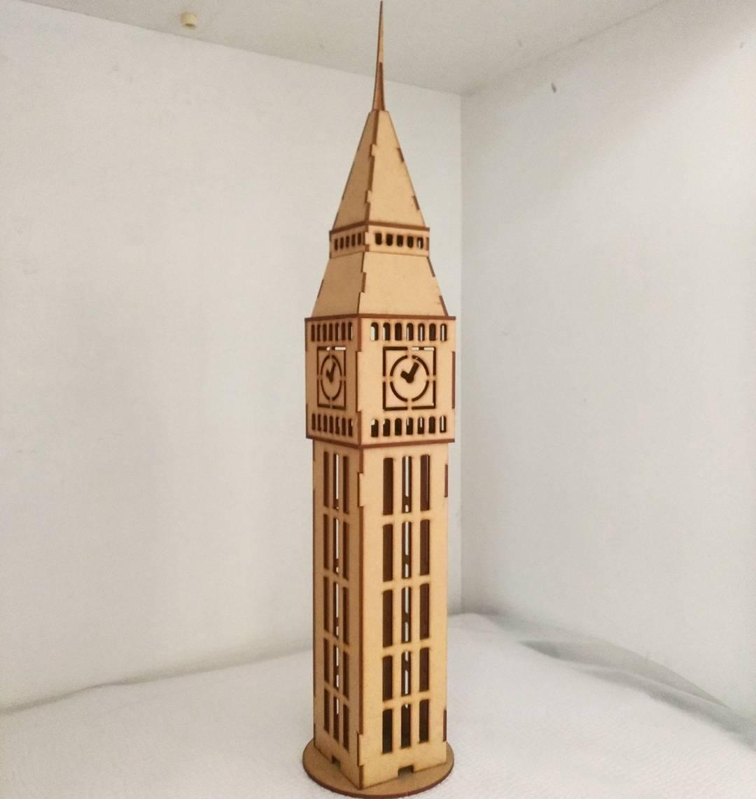 Big Ben Tower CDR File