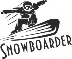 Sports Snowboarding Vector Free Vector