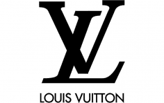 Louis Vuitton Logo dxf File