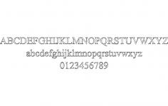 Iskoola Font dxf File